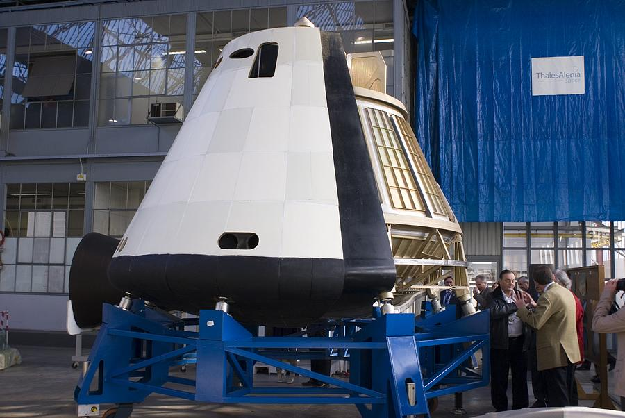 Space Capsule Photograph