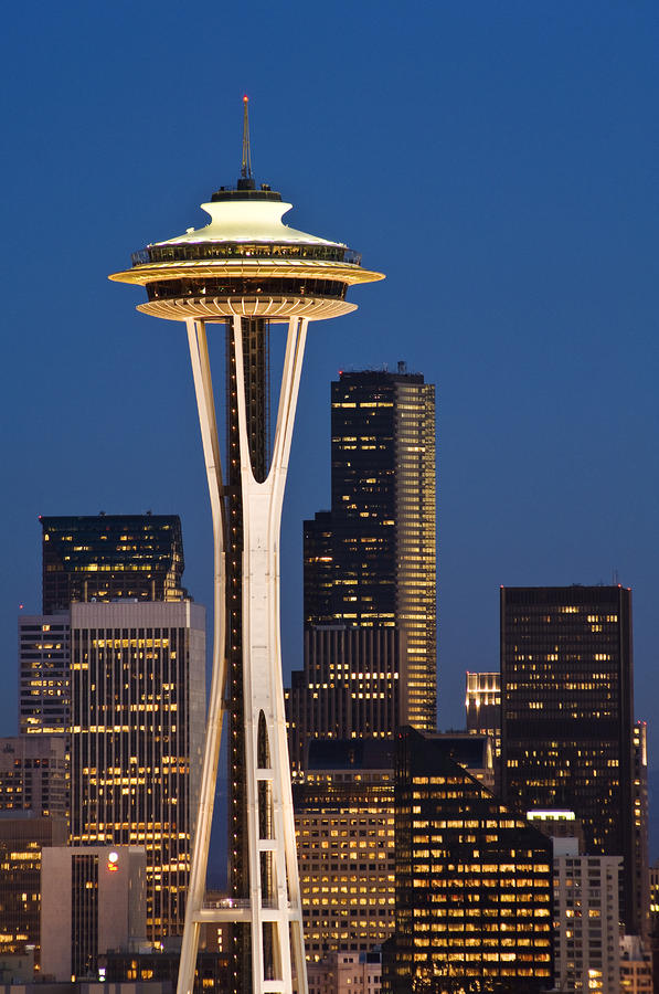 space needle twilight by greg vaughn printscapes