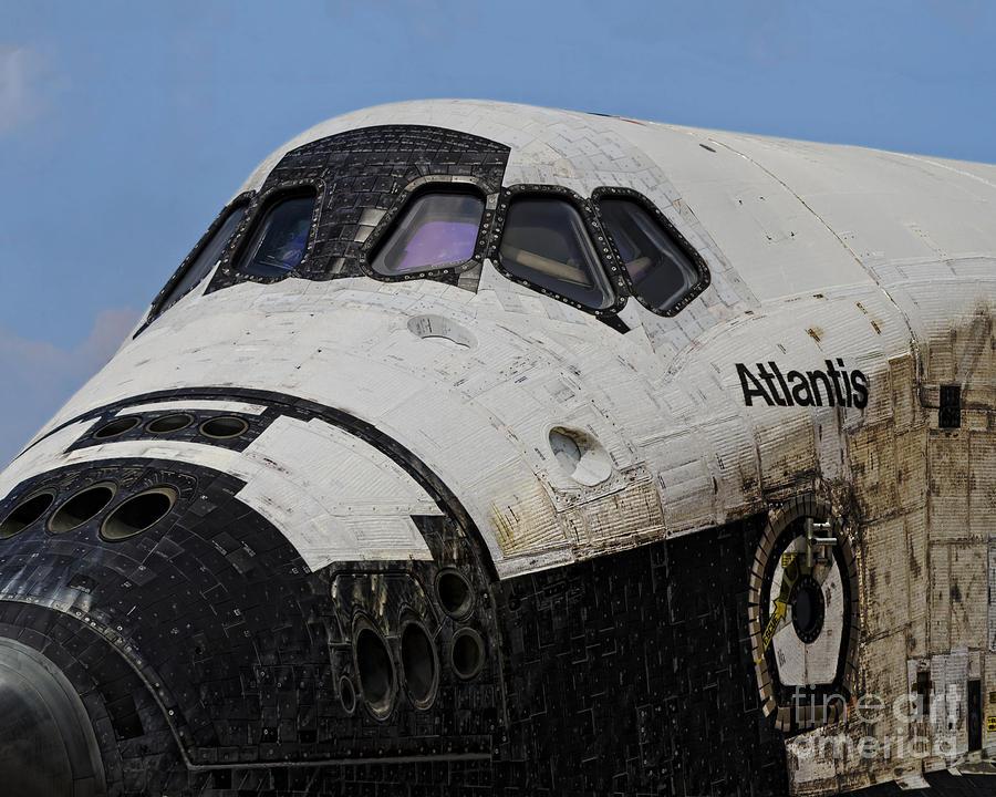 space shuttle atlantis reentry - photo #27