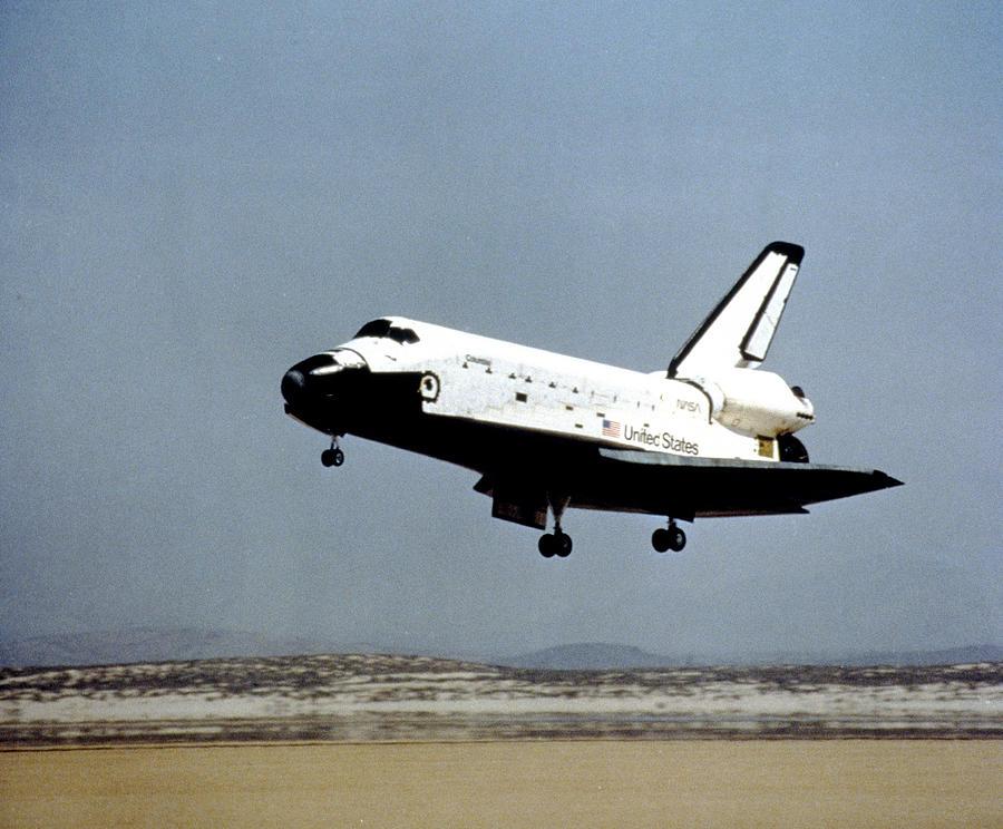 space shuttle orbiter landing speed - photo #44