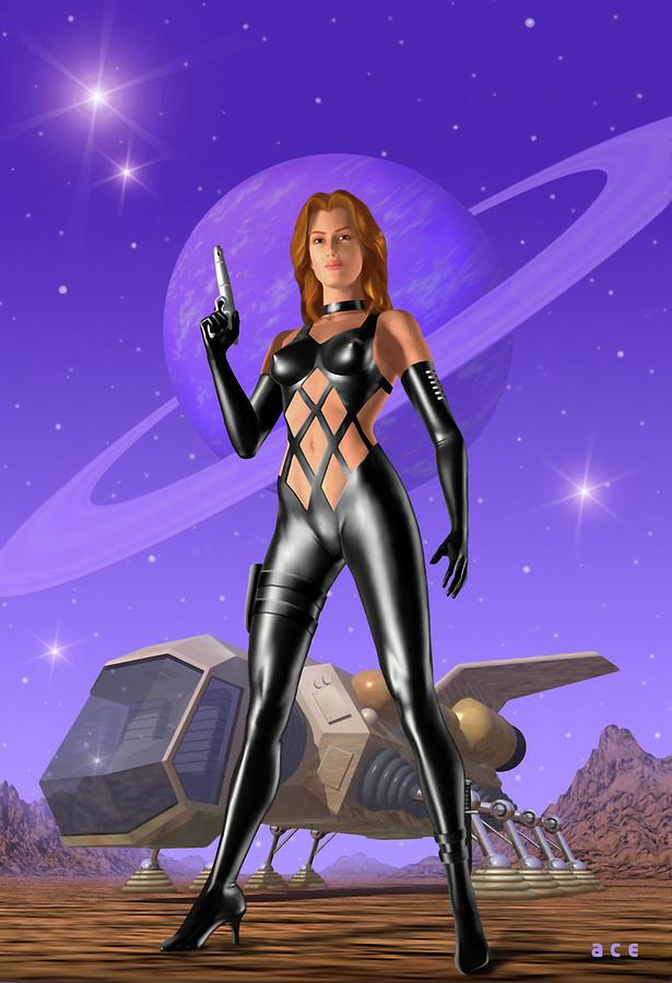 Spacehunter Digital Art
