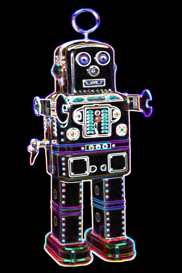 Spaceman Robot Digital Art