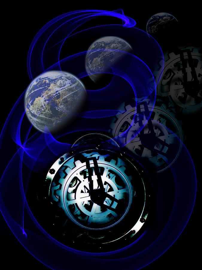 Spacetime curvature by angel jesus de la fuente for Space time curvature