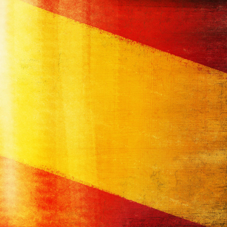 Spain Flag Photograph  - Spain Flag Fine Art Print