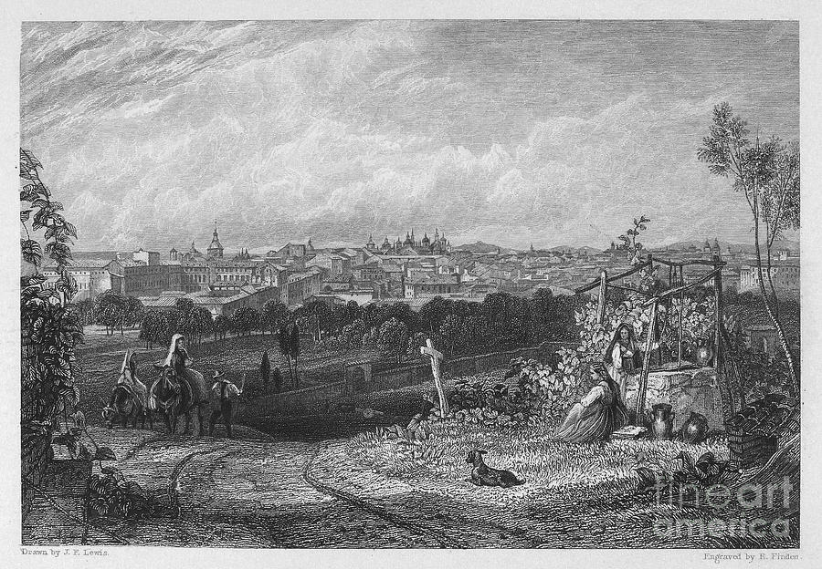 Spain: Madrid, 1833 Photograph  - Spain: Madrid, 1833 Fine Art Print