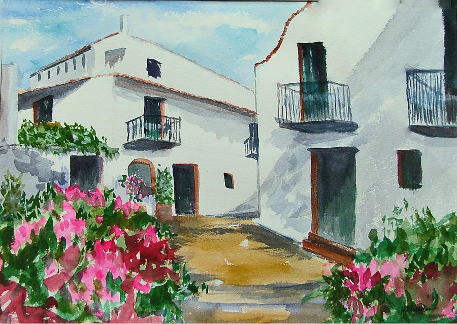 Spanish Balconies Painting