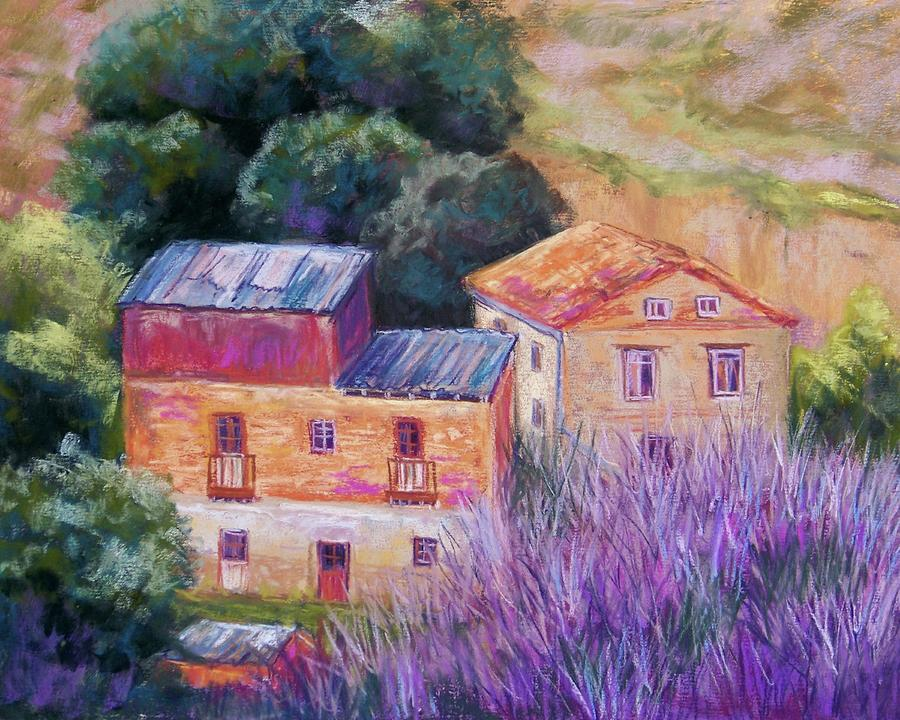Spanish Farmhouses Pastel