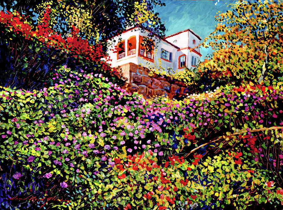 Spanish House Painting  - Spanish House Fine Art Print
