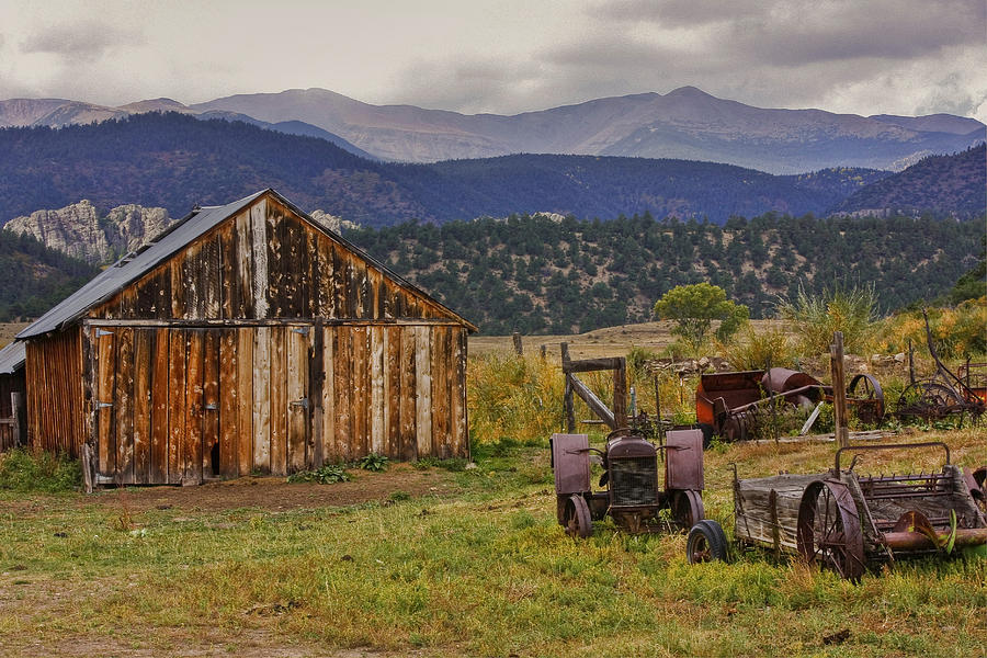 Spanish Peaks Ranch 2 Photograph  - Spanish Peaks Ranch 2 Fine Art Print
