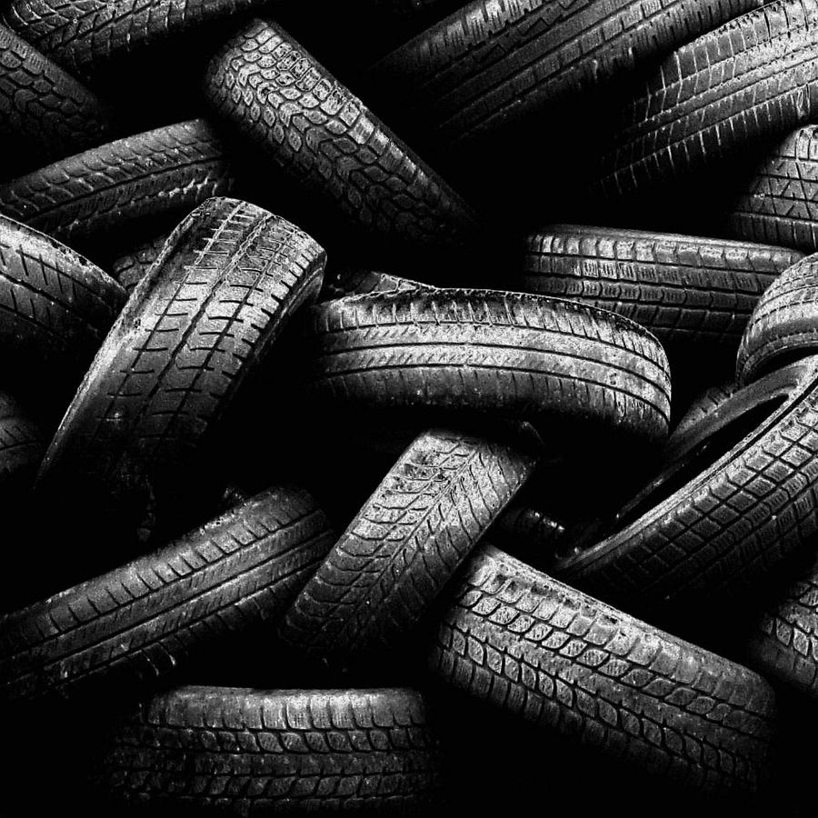 Spare Tires Photograph  - Spare Tires Fine Art Print
