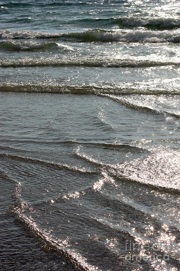 Sparkling Sunshine On Gentle Surf Photograph  - Sparkling Sunshine On Gentle Surf Fine Art Print