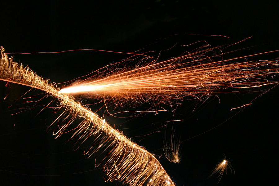 Sparks Will Fly Photograph