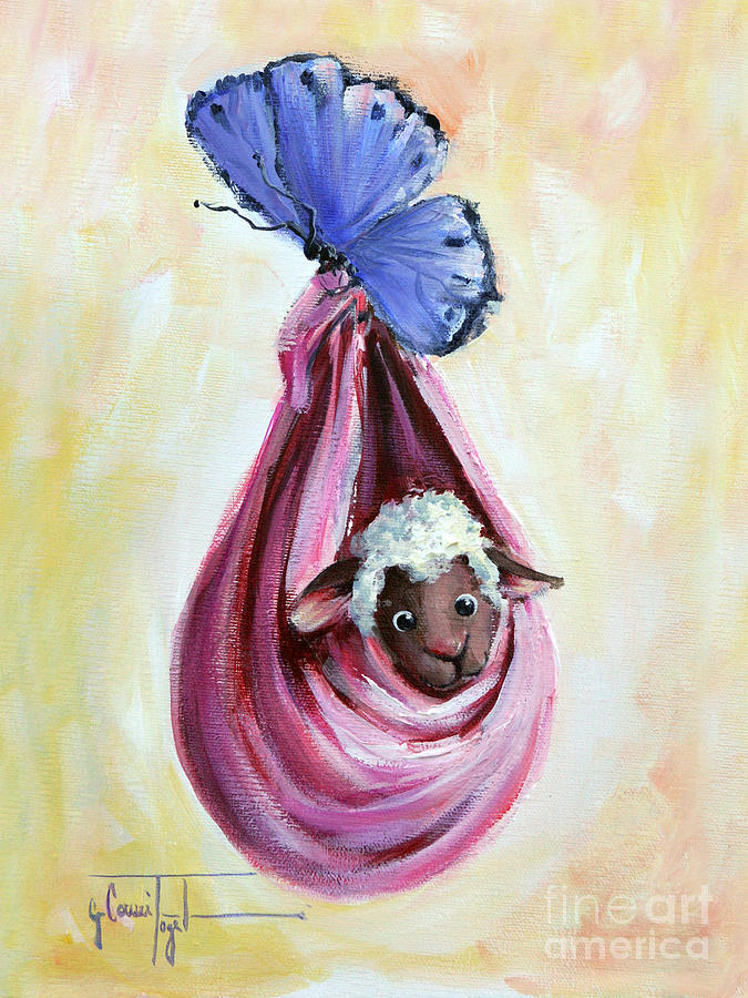 Special Delivery By Sheep Incognito Painting  - Special Delivery By Sheep Incognito Fine Art Print