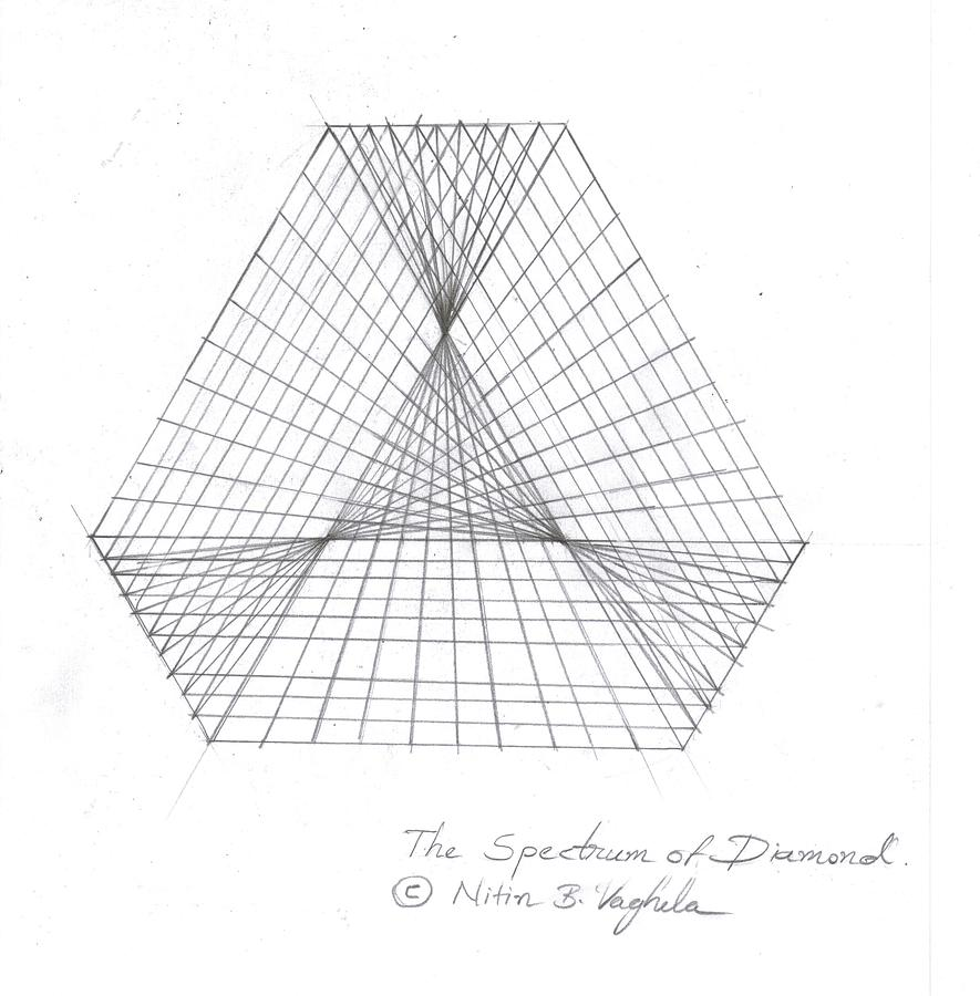 diamond pencil sketch - photo #38