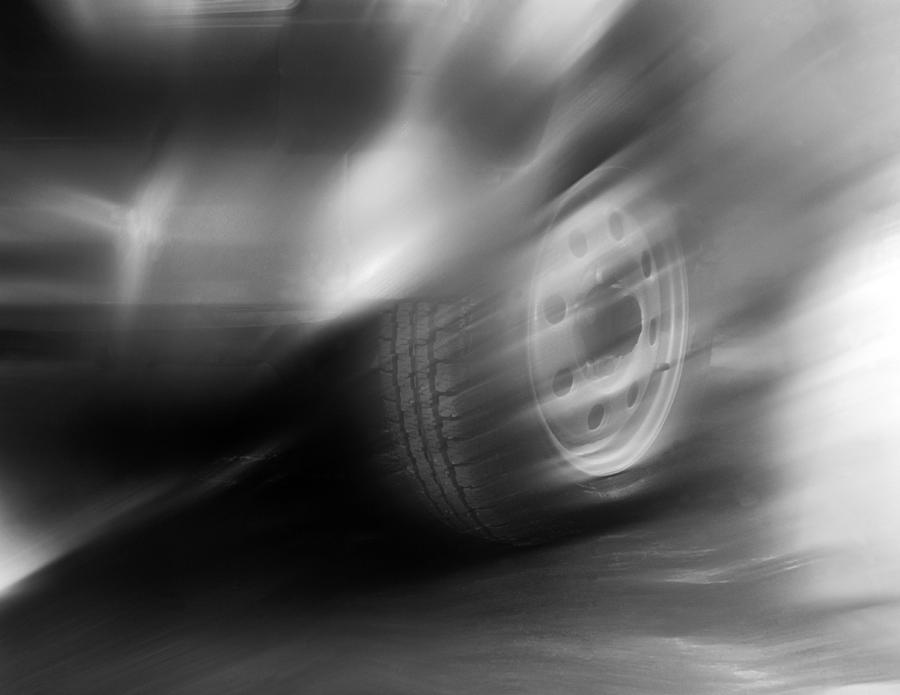 Speed Wheel Photograph  - Speed Wheel Fine Art Print