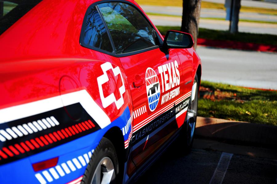 Speedway Camaro Photograph