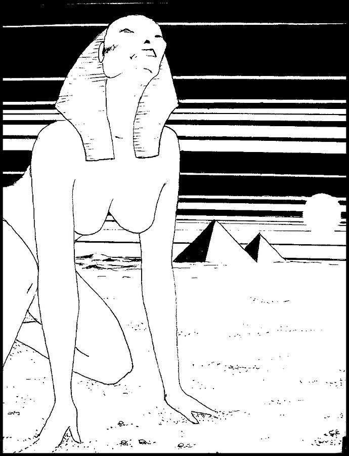 Sphinx Digital Art