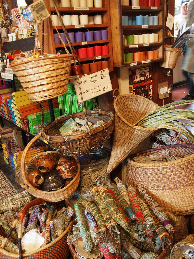 Flower Photograph - Spice Shop by Jim Moore