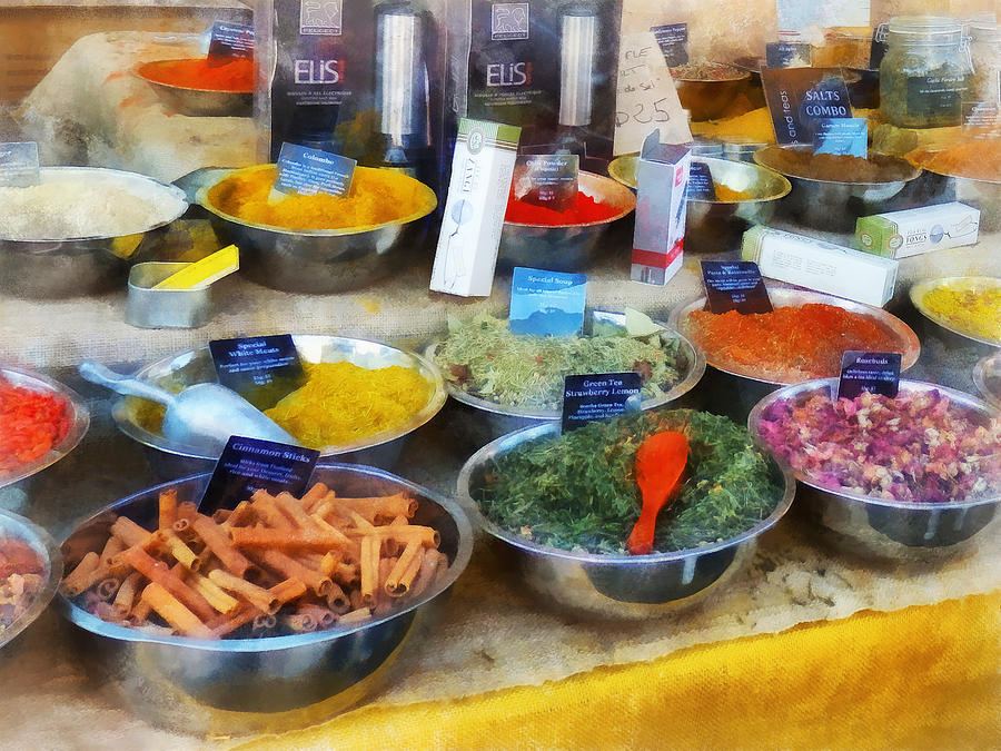Spice Stand Photograph