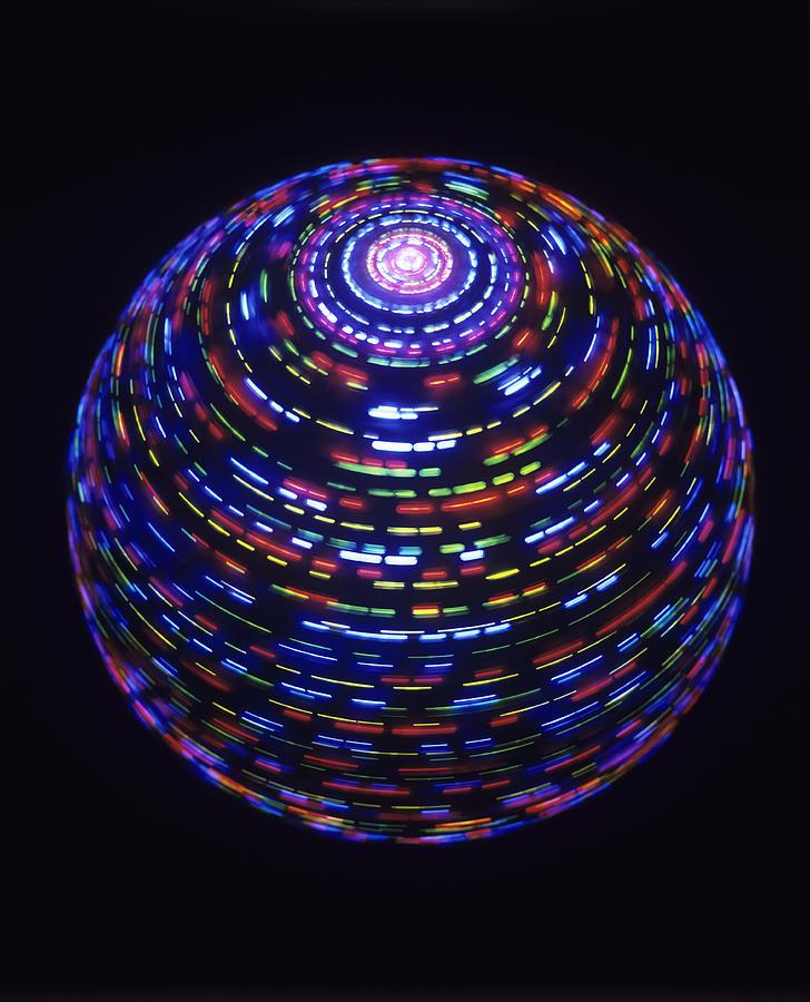 Spinning Globe Photograph