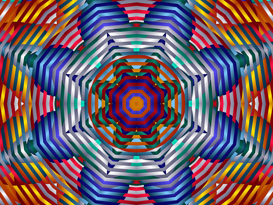 Spinning Wheels Digital Art