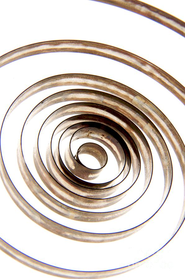Circle Photograph - Spiral by Bernard Jaubert