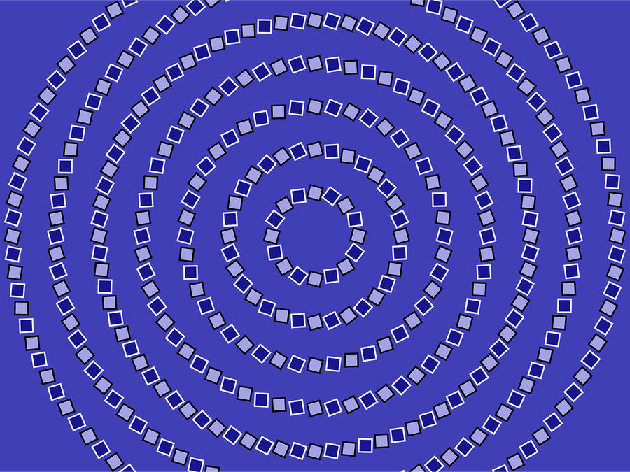 Spiral Circles Digital Art