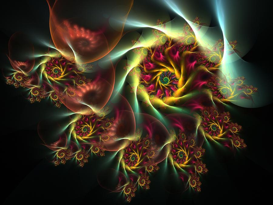 Spiral Of Riches Digital Art