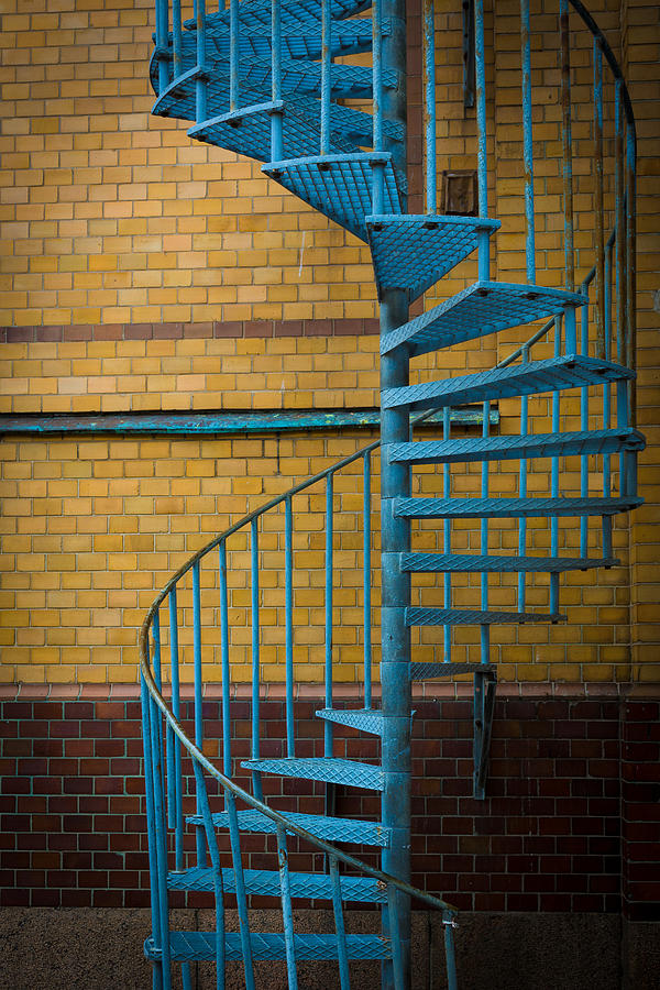 Spiral Staircase Photograph  - Spiral Staircase Fine Art Print