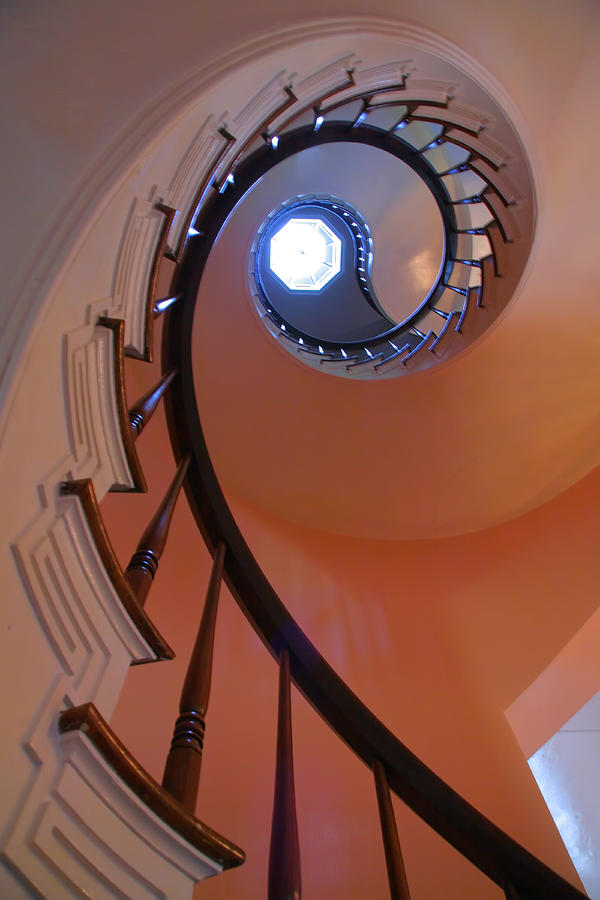 Stairs Photograph - Spiral Stairway by Steven Ainsworth