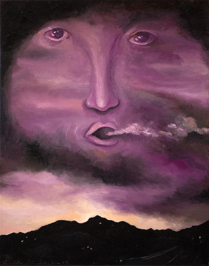 Spirit In The Clouds Painting