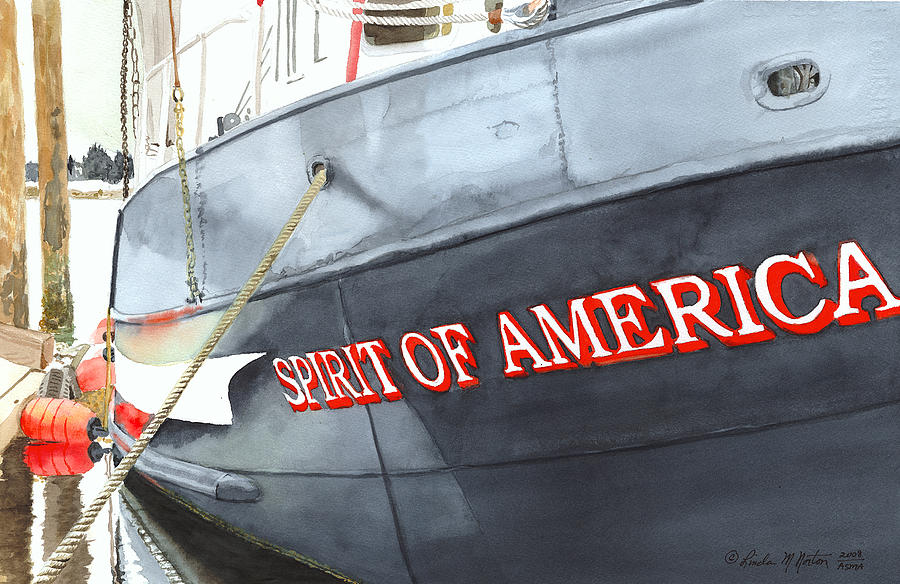 Spirit Of America Painting  - Spirit Of America Fine Art Print