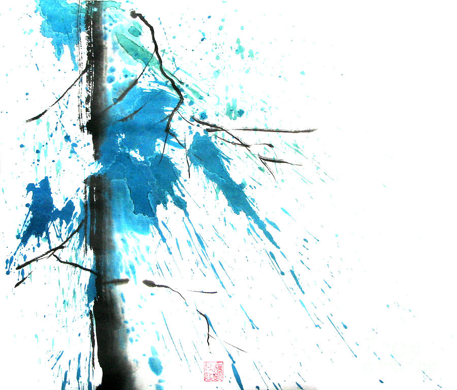 Spirit Of Pine I Painting