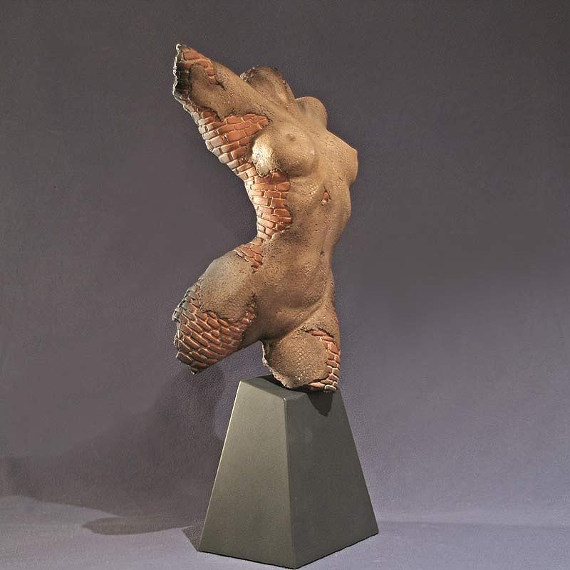 Spirit Torso Fragment Sculpture