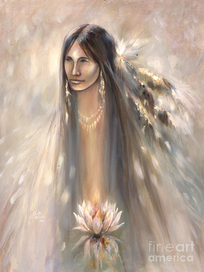 Spirit Woman Mixed Media