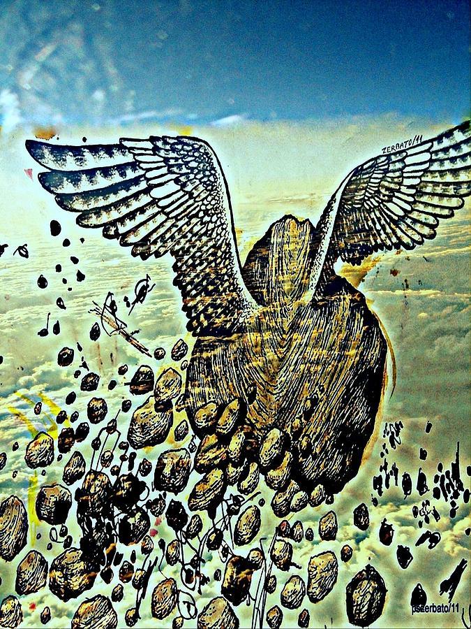 Stone Gross Digital Art - Spiritual Imperfection Of Human Beings by Paulo Zerbato