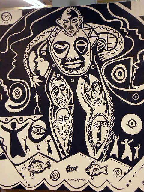 Spiritual Rythmn Painting