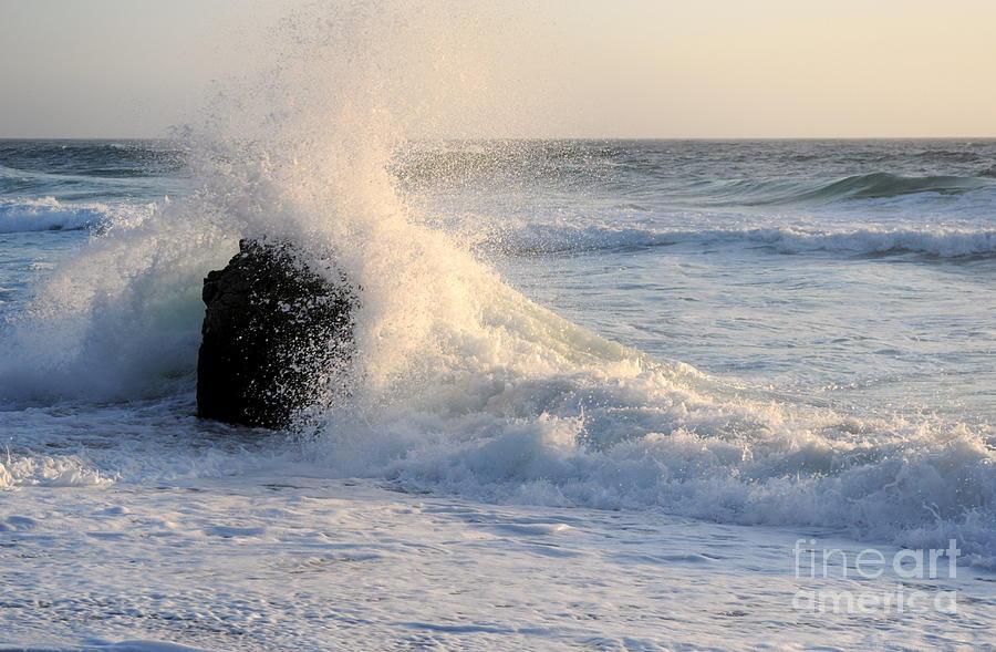 Water Photograph - Splash 2 by Catherine Lau