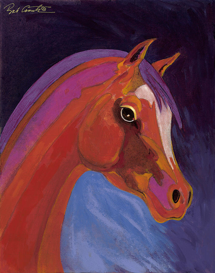 Horse Painting Painting - Splendor by Bob Coonts