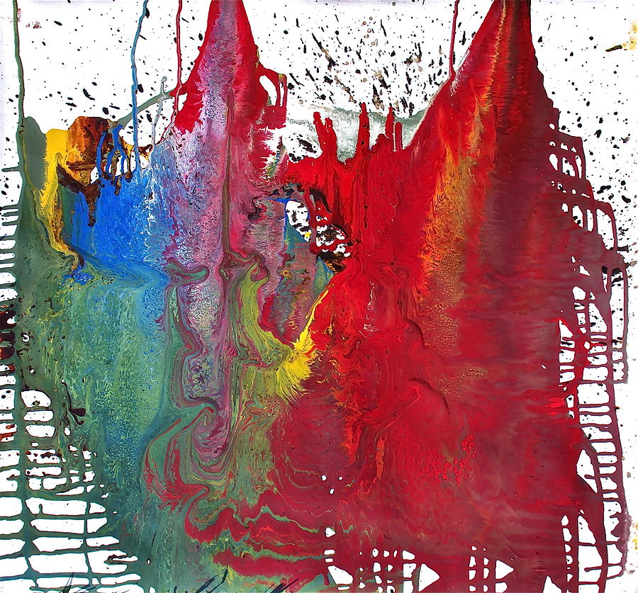 Mind Painting - Split Personality by Stefan Maguran