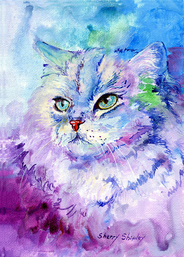 spoiled pretty painting by sherry shipley