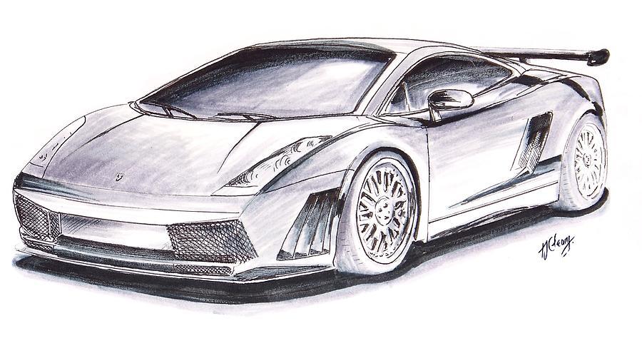 Draw Sports Cars Car Drawing