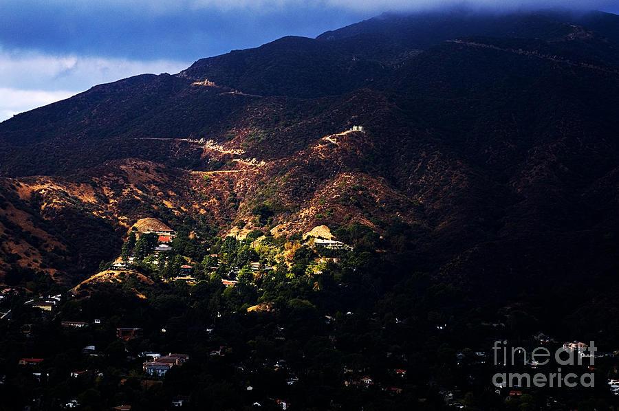 Spotlight From The Heavens Photograph