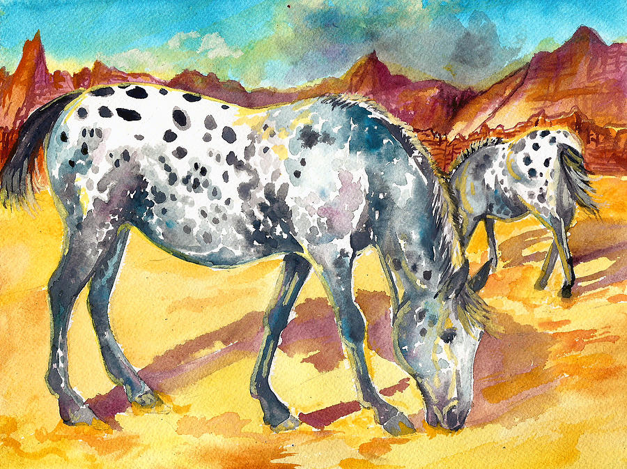 Spotty Morning Painting