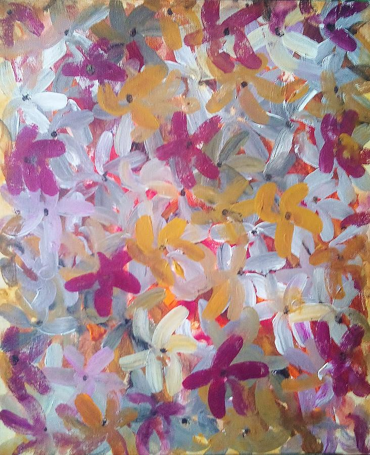 Spring Painting - Spring Awakening by Derya  Aktas