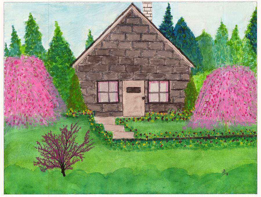 Spring Cottage By David Bartsch