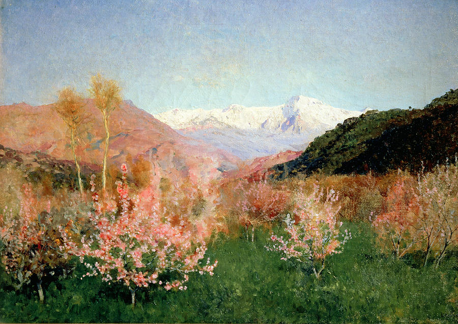Spring In Italy Painting