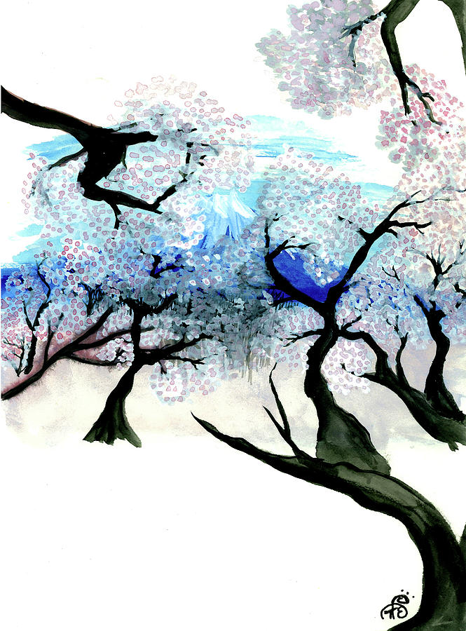 Spring In Japan Painting