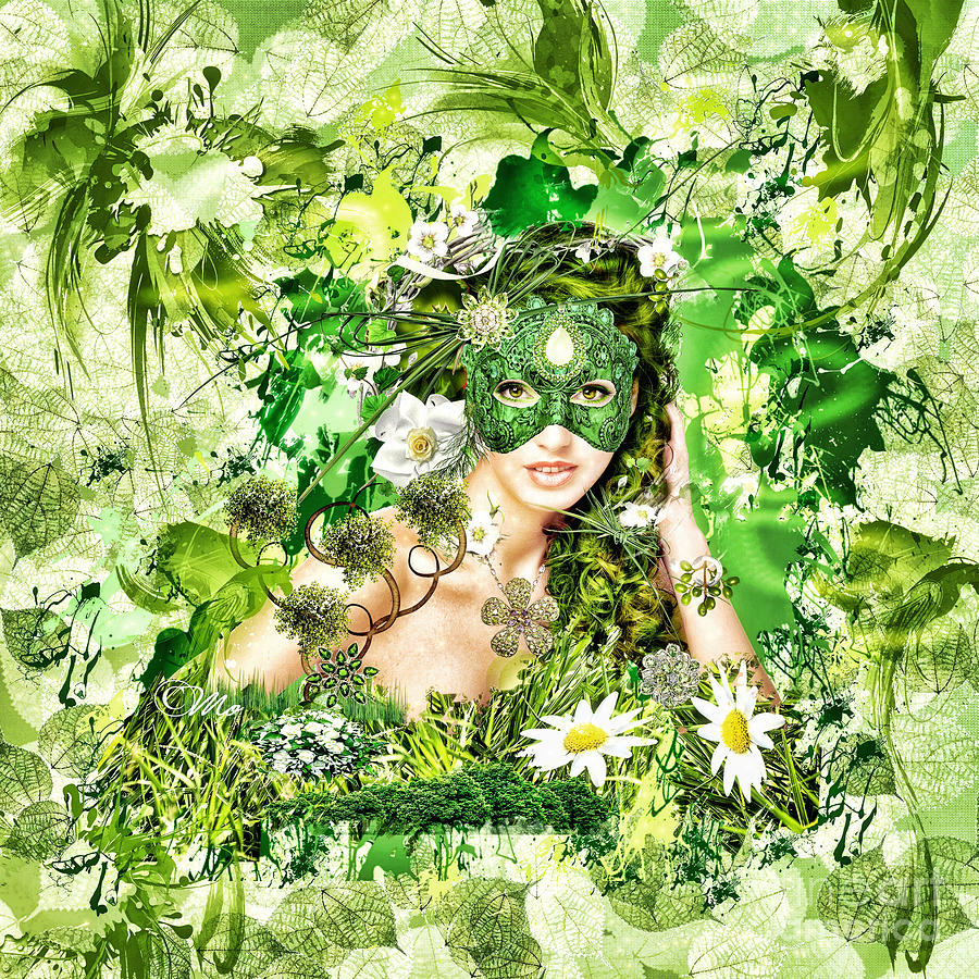 Spring Digital Art