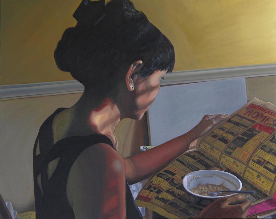 Spring Morning Cabot Arkansas Painting
